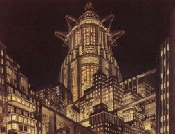 """Tower of Babel"" from Fritz Lang's Metropolis, 1921"